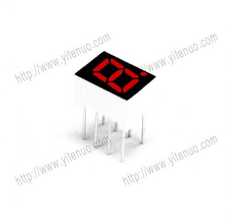 ELS-2181BS 0.28inch 1 digit Common Anode Red digital tube