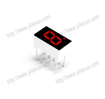 ELS-3104AS 0.3 inch 1 digit Common Cathode Red digital tube