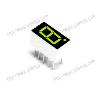 ELS-3161AG 0.36 inch 1 digit Common Cathode Green digital tu