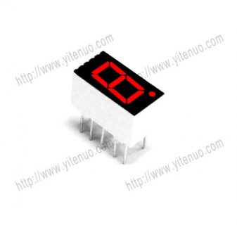 ELS-3161AS 0.36 inch 1 digit Common Cathode Red digital tube