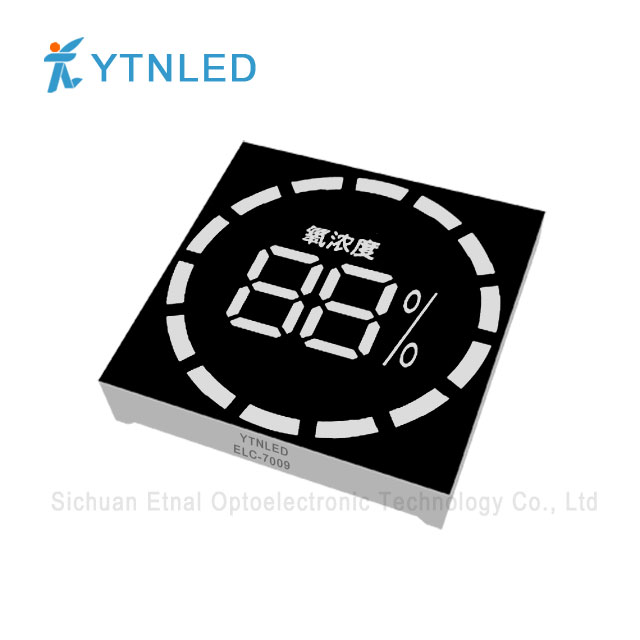 Customized led display ELC-7009S,O,Y,G,GG,B,W