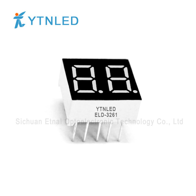 0.36inch Dual digit led display Common Cathode Anode Red Oran