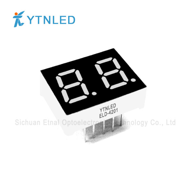 0.4inch Dual digit led display Common Cathode Anode Red Orang