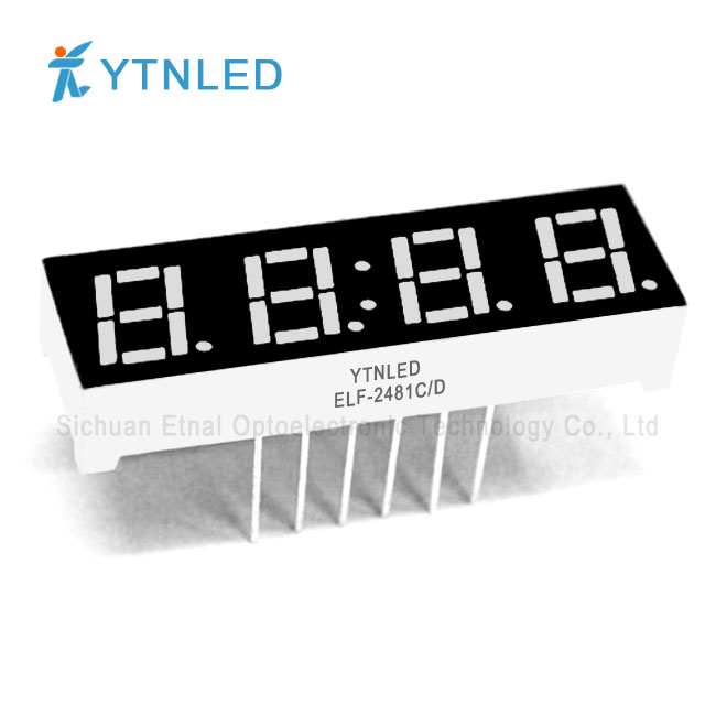 0.28inch Four digit led display Common Cathode Anode Red Oran