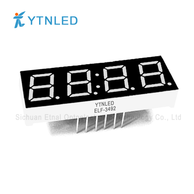 0.39inch Four digit led display Common Cathode Anode Red Oran