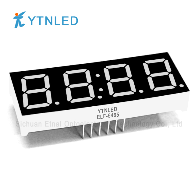 0.56inch Four digit led display Common Cathode Anode Red Oran