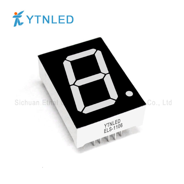 1inch Single digit led display Common Cathode Anode Red Orang