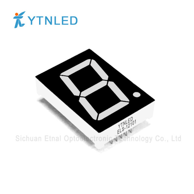 1.2inch Single digit led display Common Cathode Anode Red Ora
