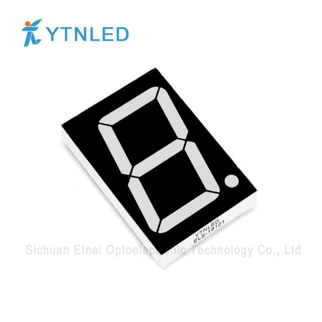 1.8inch Single digit led display Common Cathode Anode Red Ora