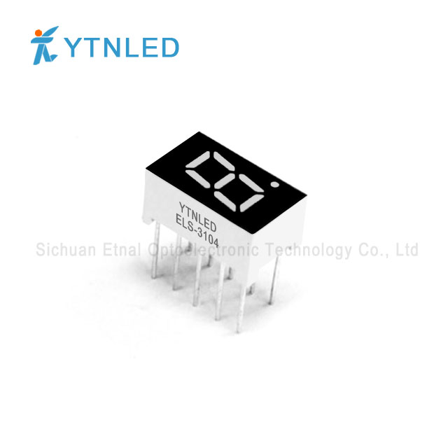 0.3inch Single digit led display Common Cathode Anode Red Ora