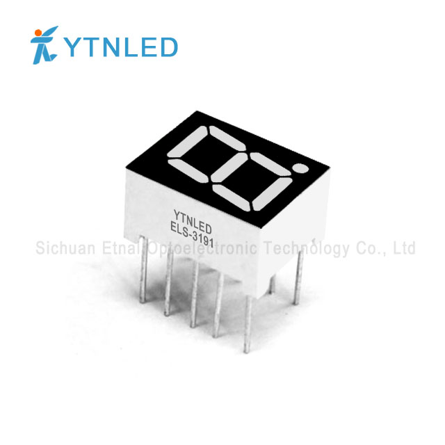 0.39inch Single digit led display Common Cathode Anode Red Or