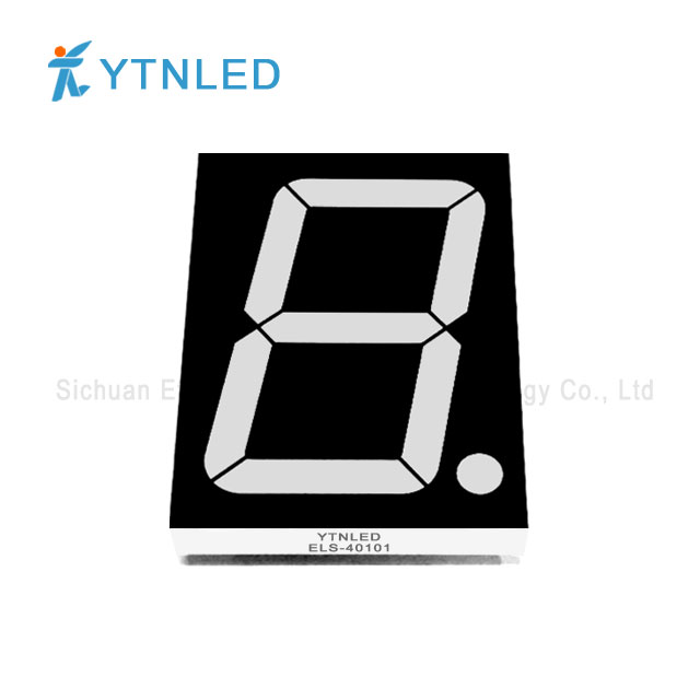 4inch Single digit led display Common Cathode Anode Red Orang