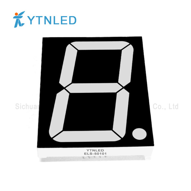 5inch Single digit led display Common Cathode Anode Red Orang