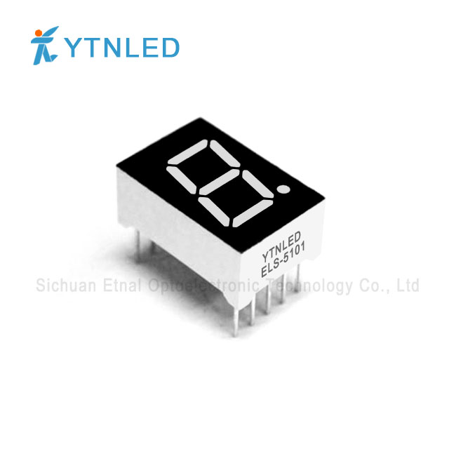 0.5inch Single digit led display Common Cathode Anode Red Ora