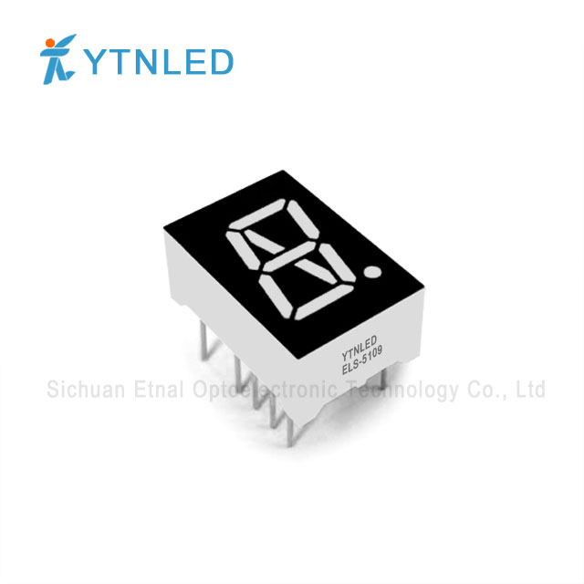 0.5inch Single digit Alphanumeric led display Common Cathode