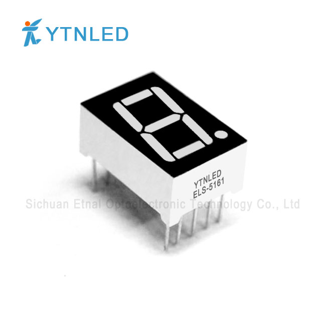 0.56inch Single digit led display Common Cathode Anode Red Or