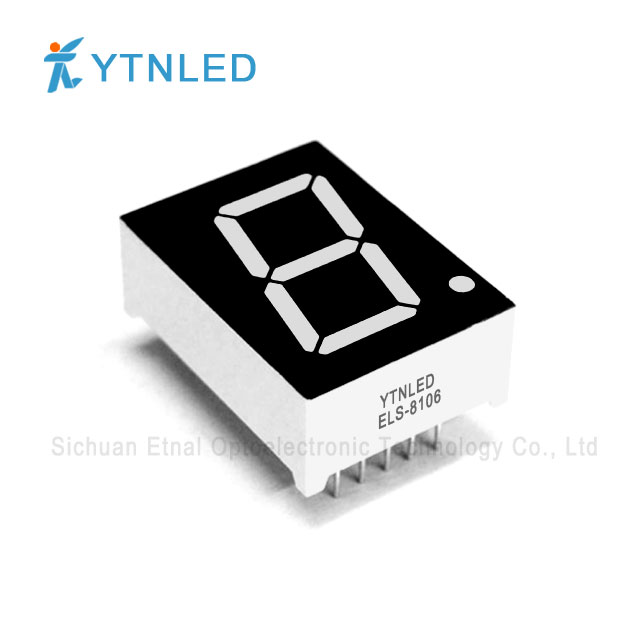 0.8inch Single digit led display Common Cathode Anode Red Ora