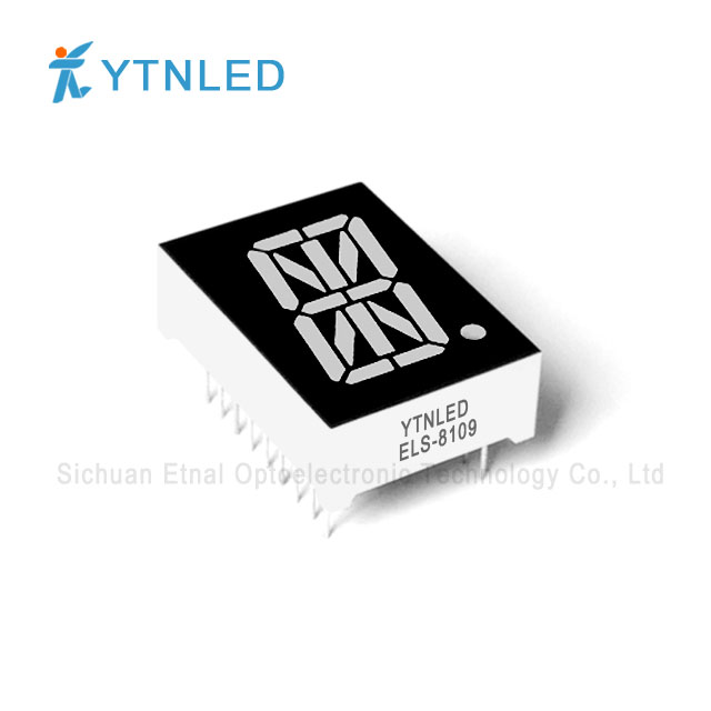 0.8inch Single digit Alphanumeric led display Common Cathode