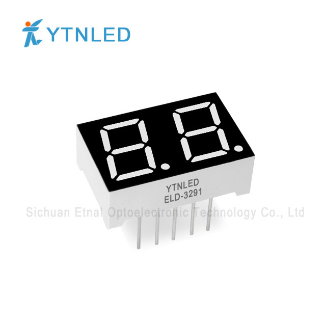 0.39inch Dual digit led display Common Cathode Anode Red Oran